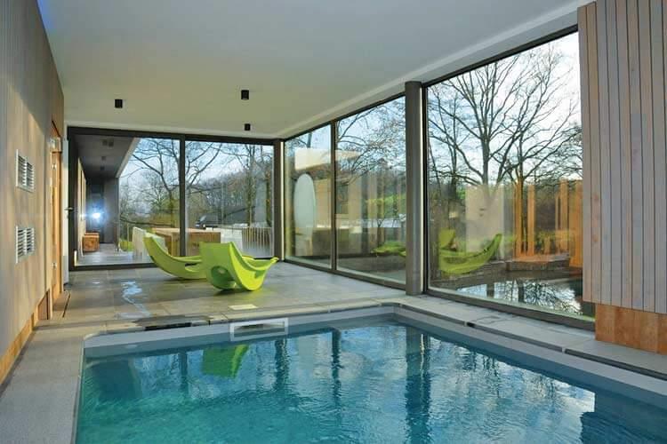 Zwembad In Huis : Vakantiehuizen met privé binnen zwembad in belgië ardennen