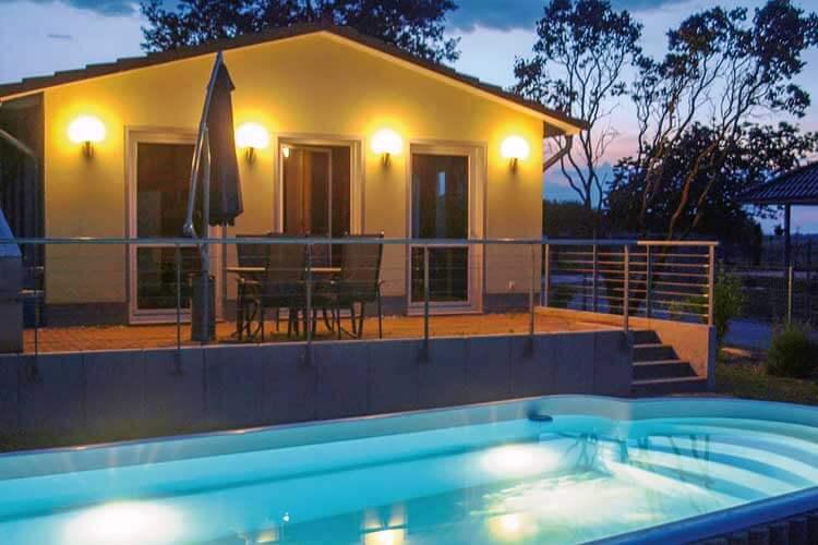 Vakantiehuis Met Privé Zwembad In Duitsland